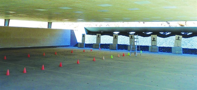 Troy System Outdoor Shooting Range Overhead Roof Structure (Troy Acoustics)