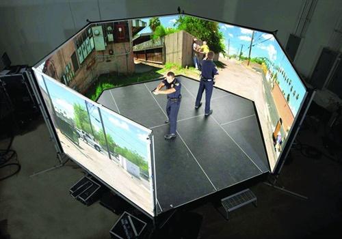VirTraV-300 Training Simulator (Photo: VirTra)