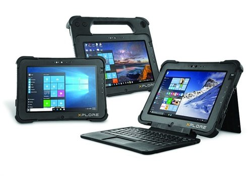 Xplore Technologies Xplore L10 Rugged Tablet Platform (Photo: Xplore Technologies