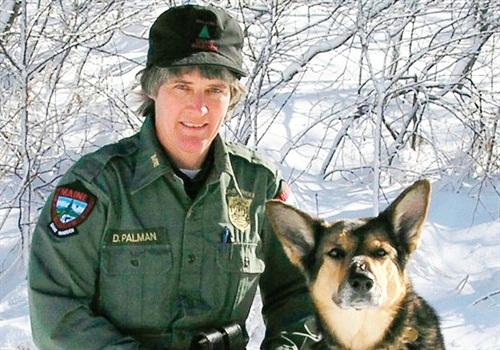 Warden Deb Palman and cadaver dog Alex found the body.