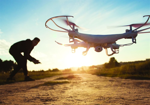 Drone piloting is one of the most popular hobbies in the United States, and these aircraft are now being used in crime. (Photo: Getty Images)