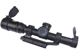 Police Product Test: Nikon 1-4X M-223 Rifle Scope