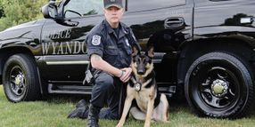 Michigan Officer Starts K-9 Unit, Serves 26 Years In Honor Guard