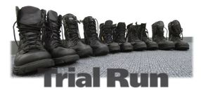Trial Run: Duty Boots