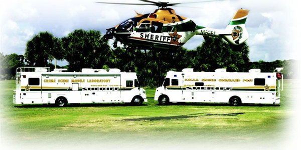 Mobile command units, such as those  from LDV, can be as long as 45 feet. Equipment inside LDV...