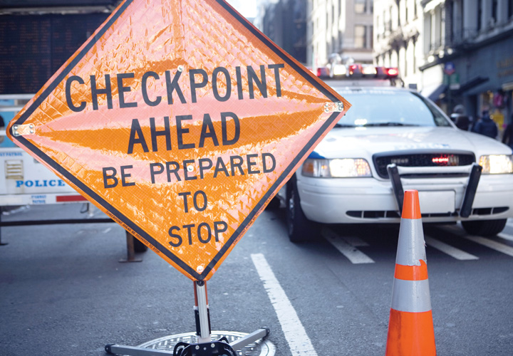 Vehicle Checkpoints
