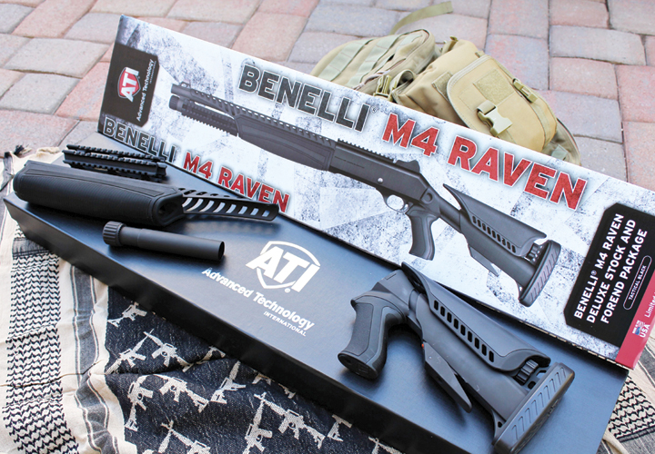 Police Product Test: ATI Raven Benelli M4 Package