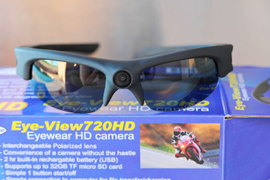 Police Product Test: Eye of Mine HD Video Camera Sunglasses