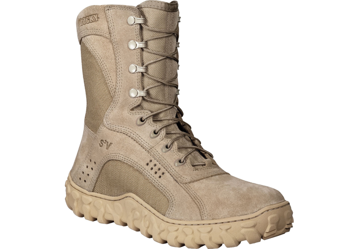 Police Product Test: Rocky S2V Vented Military Duty Boots