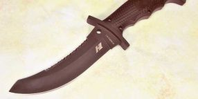 Police Product Test: Spyderco Warrior Fixed-Blade Knife