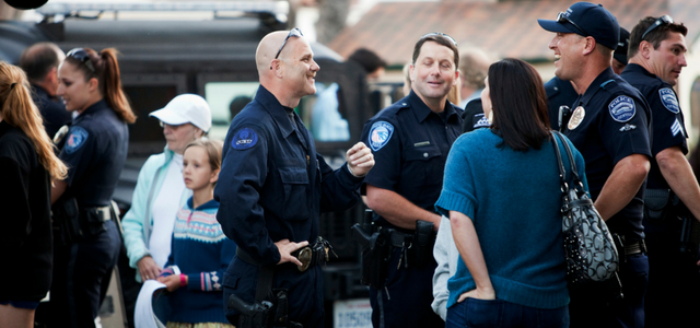 For Community Policing to Succeed, Walking Around Isn't Enough