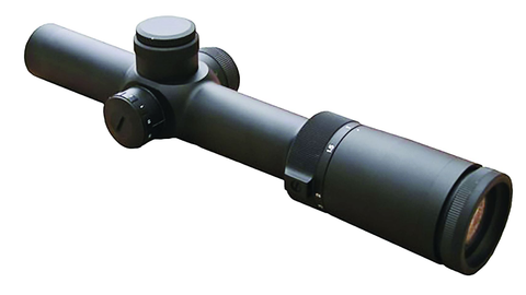 Shepherd's Phantom 1-6X24 T2 tactical scope was designed to be fast andversatile.