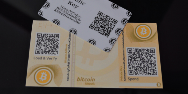 "Various ""wallets"" are used for storing Bitcoin and other cryptocurrencies. Photo: Aaron Strain"