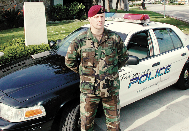 Military Vets Joining Law Enforcement