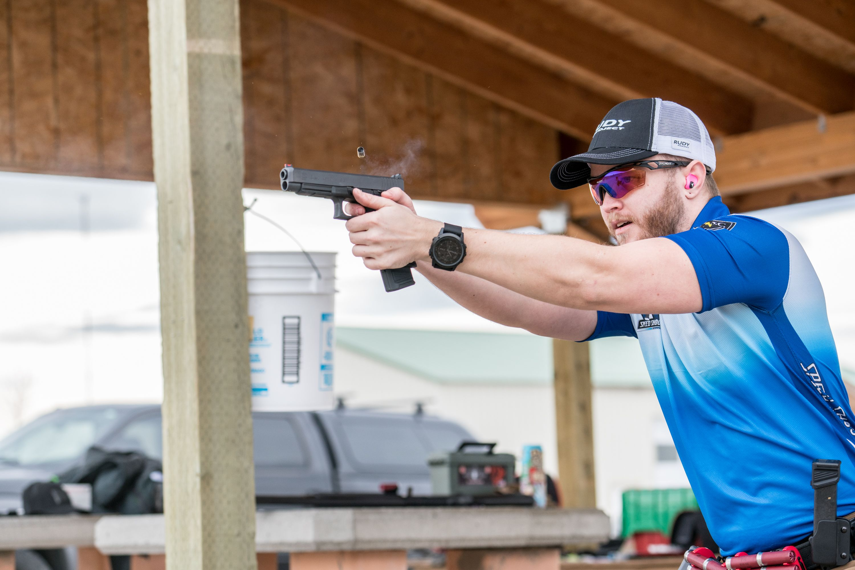 Police Product Test: The Rudy Project Tralyx Shooting Glasses Kit