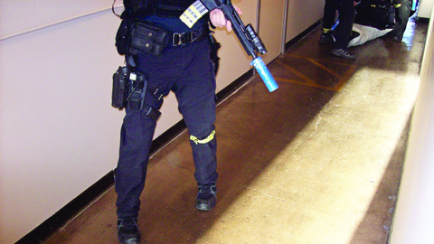 "A Seattle SWAT officer was impressed his Haix boots were quiet on normally ""squeaky flooring""..."