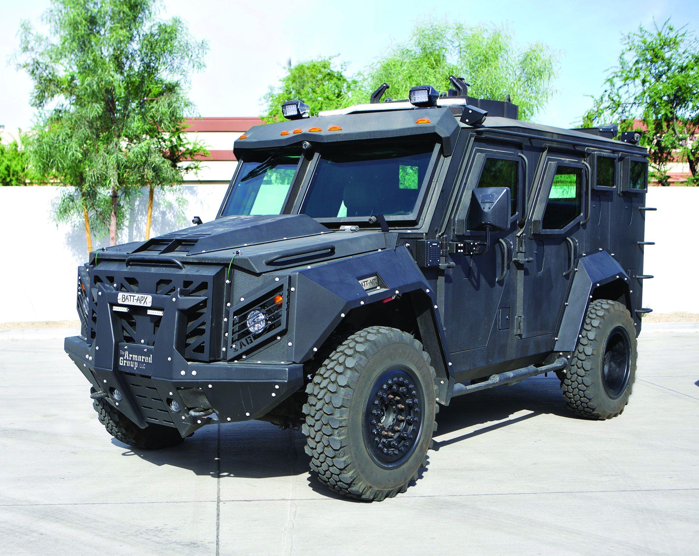 Vehicle Spotlight: The Armored Group BATT-X and Discreet Armored Suburban