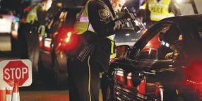 Driver Runs Your DUI Checkpoint