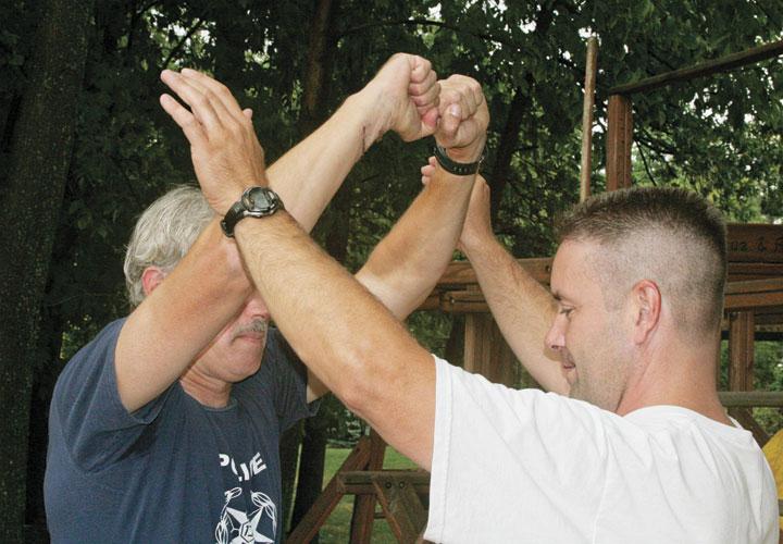 Defense Against Standing Choke Holds