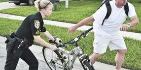 Beware Bad Guys on Bikes