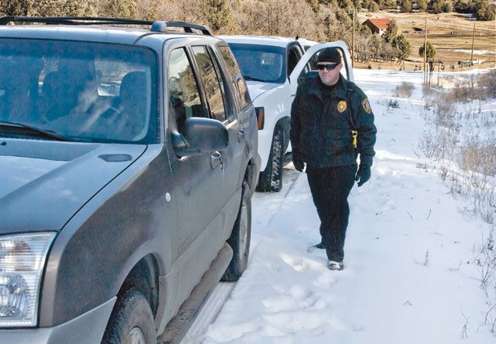 The Hazards of Patrolling In Snow