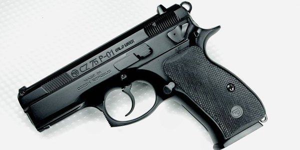 The CZ P-01 is a compact, aluminum alloy frame duty pistol with some thoughtful features.