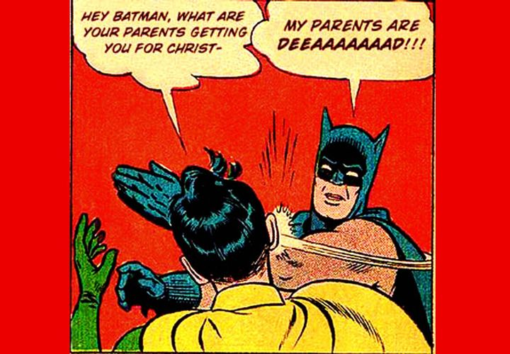 Batman first appeared in Detective Comics books published in the late 1930s. DC Comics continues to publish graphic novels with the character. Photo via geminicollisionworks (Flickr.com).