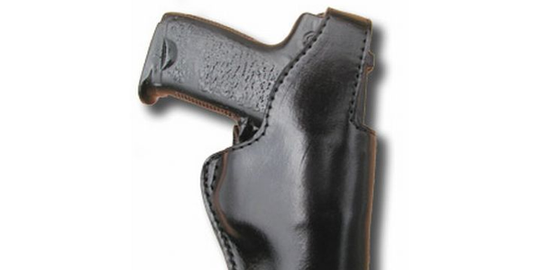 Black Hills Leather's Police Duty Holster is designed for law enforcement agencies. Photo via...