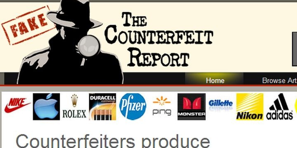 Screenshot via The Counterfeit Report.
