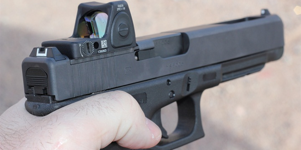 Glock's newest pistols feature a mounting system for micro optics.