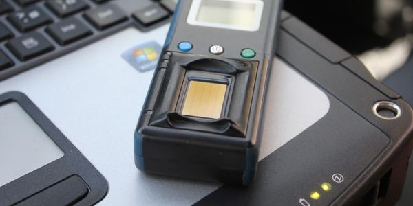 Los Angeles County Sheriff's deputies have been issued wireless fingerprint readers to quickly...