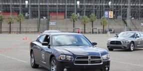 Driving the New Patrol Cars