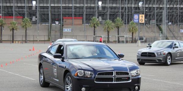 The Dodge Charger Pursuit. Photo: Paul Clinton