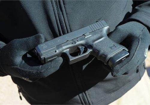 Glock introduced its G30S compact .45 ACP pistol. Photo: Mark W. Clark