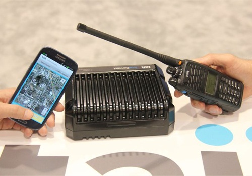Tait's Total Connect system offers interoperability, including mobile-app access.