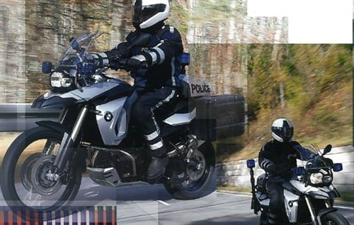 Promotional flier showing the European version of the F800-GSP. Photo: BMW.