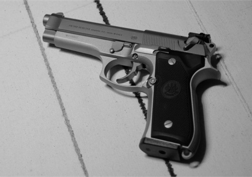 Photo of Beretta 92F courtesy of Wikimedia.