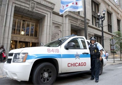 The Chicago P.D. will begin replacing its fleet that includes Chevy Tahoe SUVs (pictured) with the Ford P.I. sedan and P.I. Utility. Photo: City of Chicago/Walter S. Mitchell