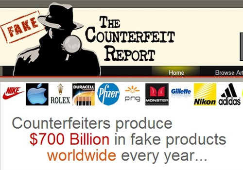 Screenshot via The Counterfeit Report.