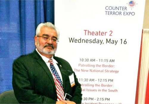 The author attends the Counter Terror Expo in Washington D.C.