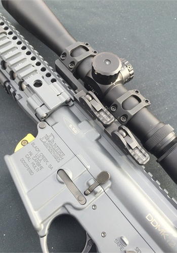 Daniel Defense showed its newest rifles.