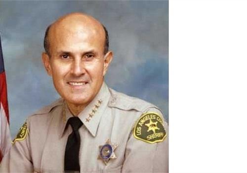 Los Angeles County Sheriff Lee Baca. Photo via LASD.