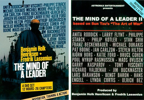 "Cover art from the ""Mind of a Leader"" DVDs."