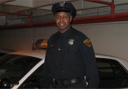 Officer Karl Lloyd was a 50-year-old recruit when he joined the Cleveland P.D. in October 2009.