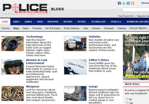 Screenshot: PoliceMag