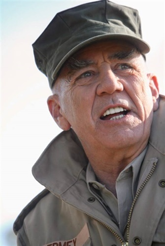 Actor and Marine R. Lee Ermey was a friend to law enforcement and a fixture at SHOT Show. (Photo: Bill Rogin/Facebook)