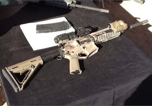 S.W.O.R.D. International's MK 15 Patrolman Carbine was designed by a retired Army Ranger and SpecOps soldier.