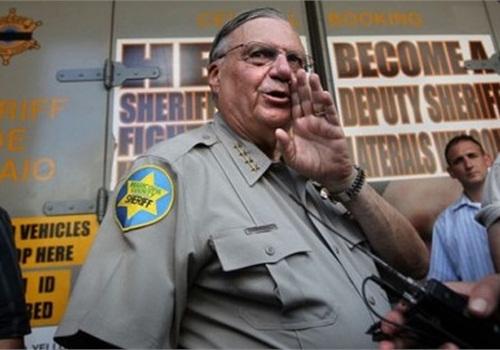 Maricopa County Sheriff Joe Arpaio. Photo: ACLU.