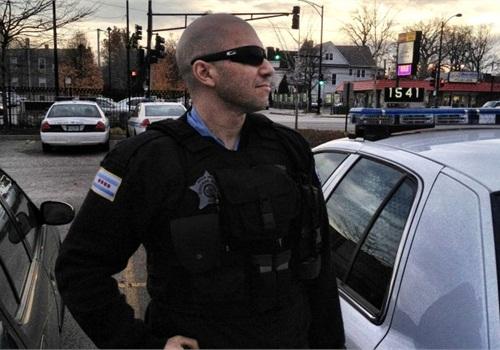 Chicago Police Officer Joshua Purkiss. Photo: Josh Purkiss