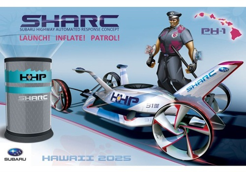 The Subaru Highway Automated Response Concept (SHARC). Photo courtesy of Subaru.